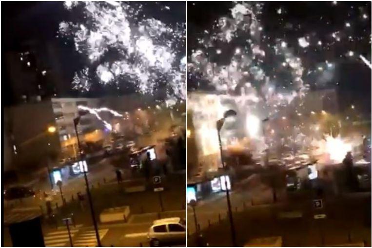 Decenas de ataques ponen en escena una comisaría de policía en el suburbio de París, Europe News & Top Stories