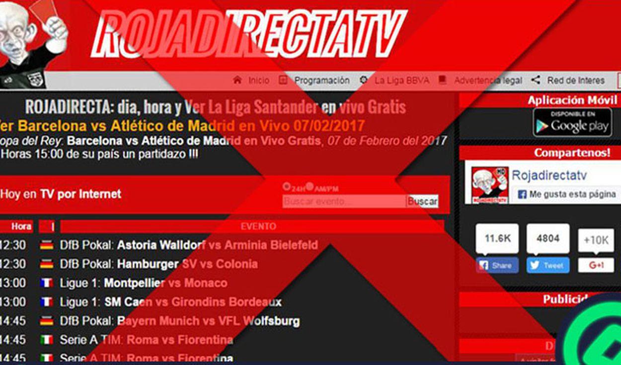 tarjeta roja web