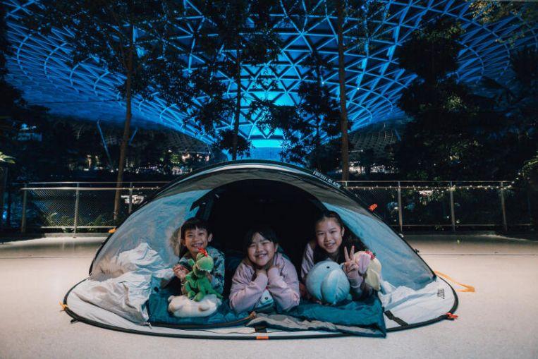 El aeropuerto de Changi ofrece una estancia glamorosa y otras actividades vacacionales