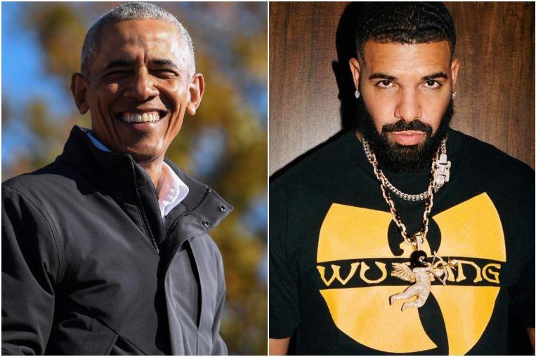 Barack Obama apoya al rapero Drake para interpretarlo en una película biográfica