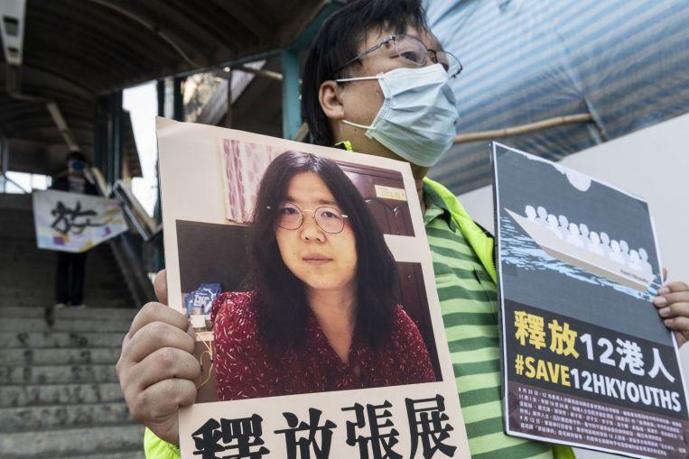 La UE critica a China por arrestar a un periodista ciudadano que informa sobre Covid-19
