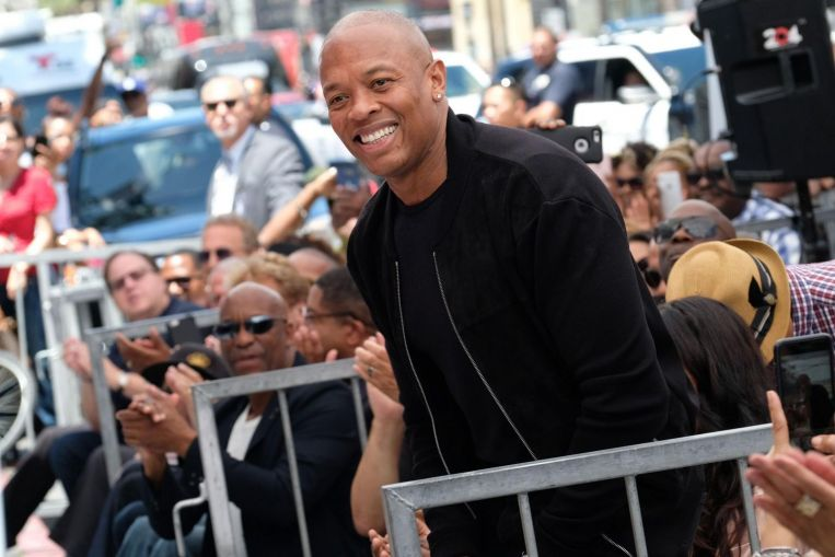 El Dr. Dre, magnate del rap estadounidense, está
