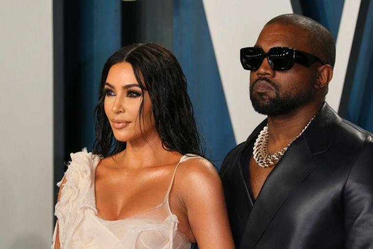 Kanye West y Kim Kardashian viven separados: informe de EE. UU.