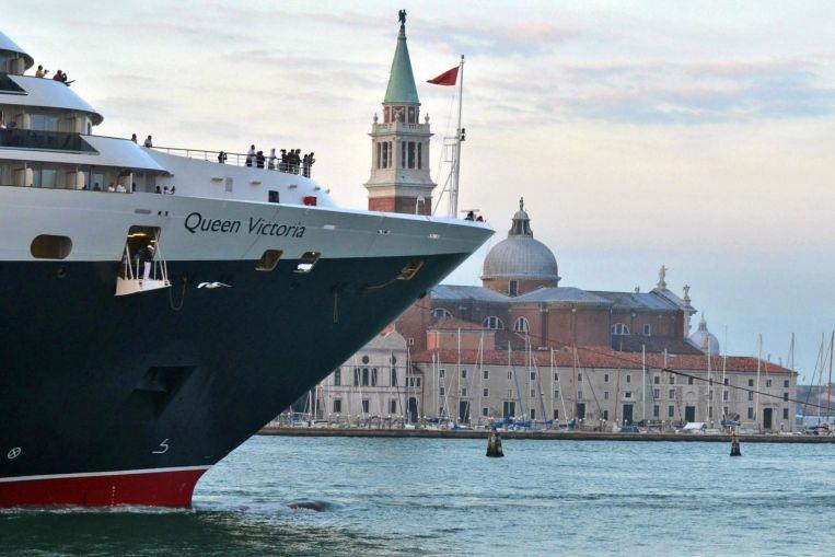 Italia prohíbe los cruceros de la laguna de Venecia, con una captura