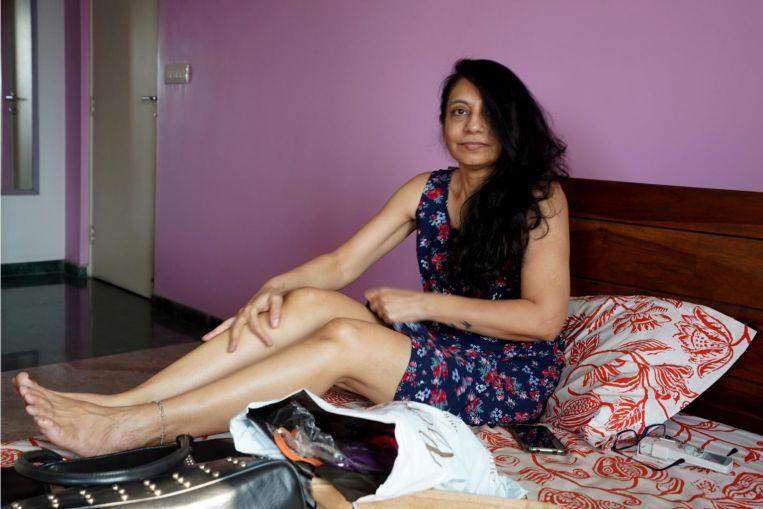 Modelo de lencería india, de 52 años, espera inspirar inclusión y cambio