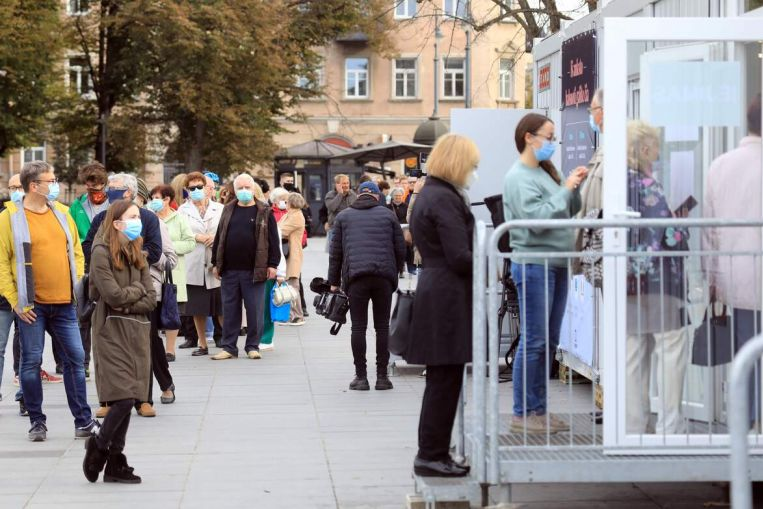 Virus, principal agenda de desigualdad con votos de Lituania, actualidad europea y principales noticias