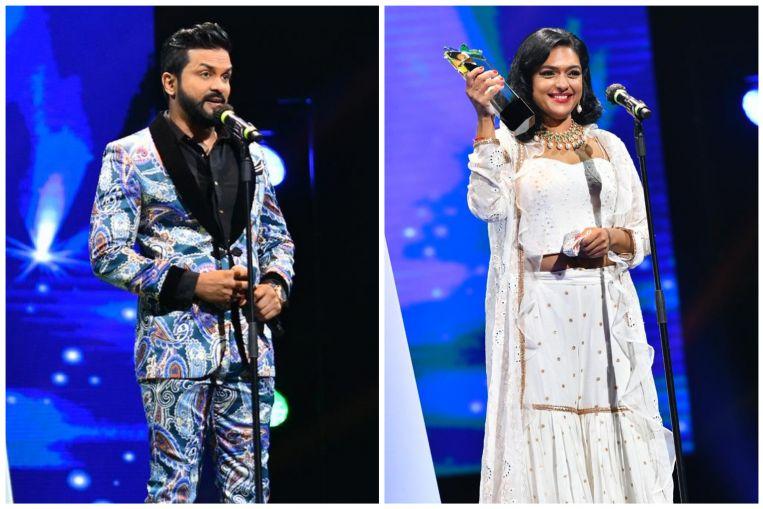 Jay Nesh, el bolso Manjari codiciado los premios de personalidad más populares en Pradhana Vizha 2021