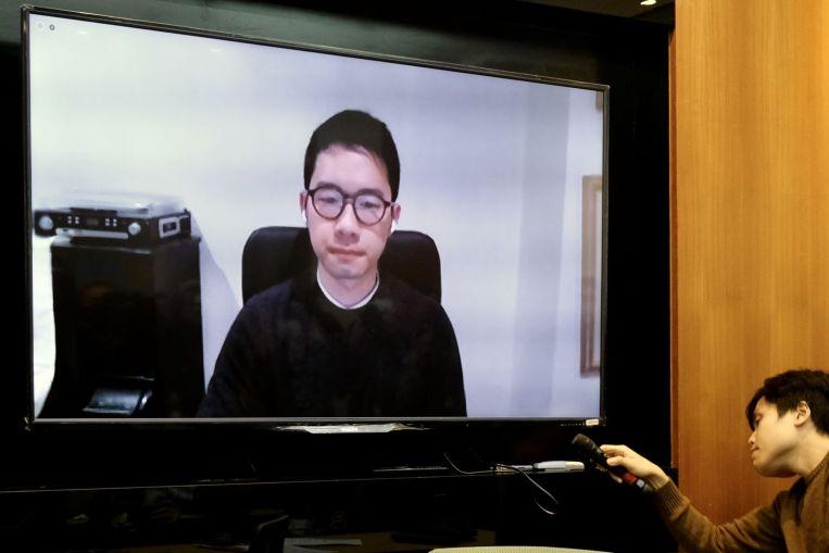 Nathan Law, activista por la democracia de Hong Kong, ha concedido asilo en Gran Bretaña