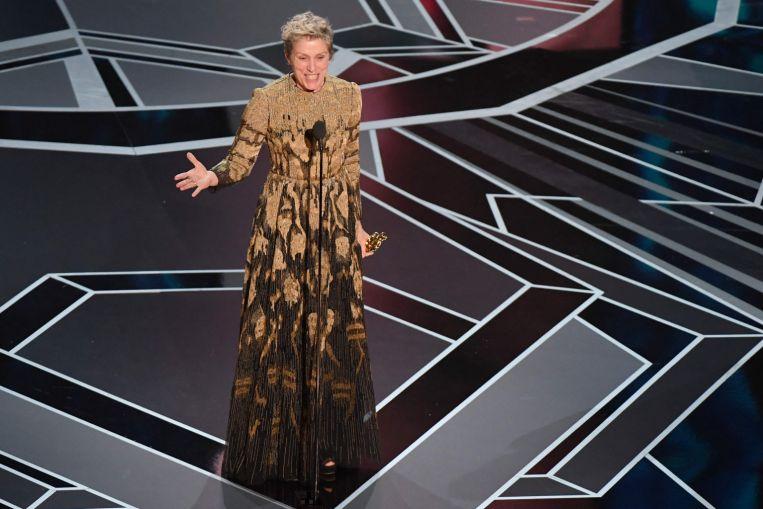 Oscar: Frances McDormand gana el tercer Oscar con Nomadland