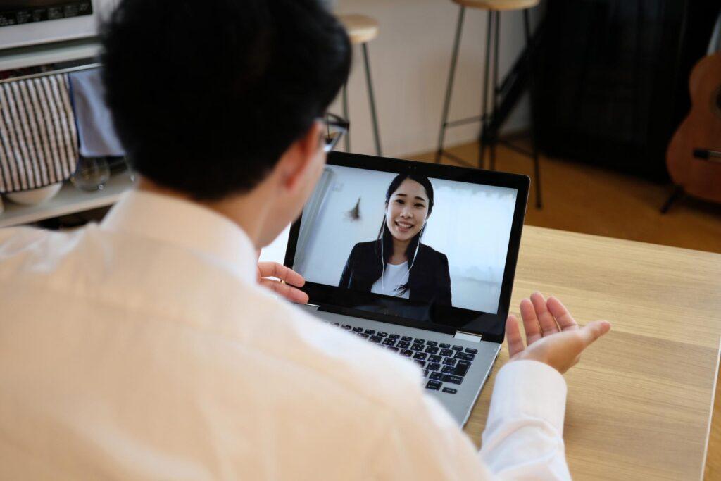 Entrevista de trabajo por internet